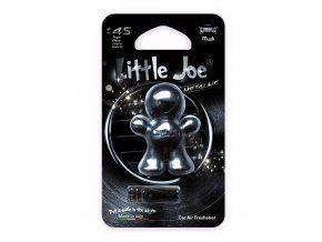 Supair Drive AG Little Joe Metallic 3D Osvěžovač vzduchu Anthracite Musk, 1 ks