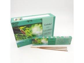 Goloka Vonné tyčinky Aromatherapy Cucumber, 15 g
