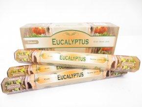 TULASI Vonné tyčinky EUCALYPTUS, 20 ks