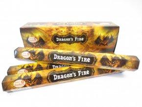 TULASI Vonné tyčinky DRAGON'S FIRE, 20 ks