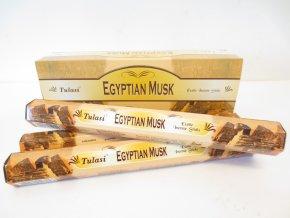 TULASI Vonné tyčinky EGYPTIAN MUSK, 20 ks