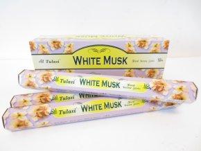 TULASI Vonné tyčinky WHITE MUSK, 20 ks