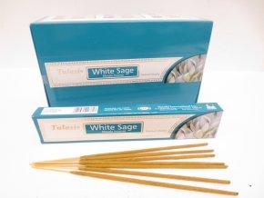 TULASI Vonné tyčinky WHITE SAGE MASALA Premium quality, 15 g