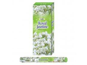 GR Vonné tyčinky EXTRA velké Royal Jasmine, 10 ks, 40 cm