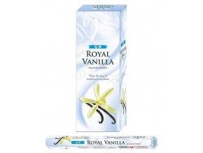 GR Vonné tyčinky EXTRA velké Royal Vanilla, 10 ks, 40 cm