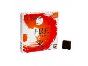Aromafume Vonné cihličky Feng Shui Fire Oheň, 9 ks