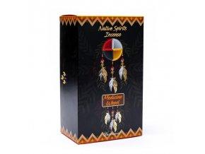 Goloka Vonné tyčinky Native spirits Medicine Wheel Kruh života Musk, 15 g