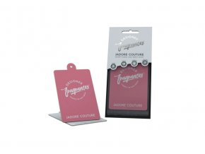 Designer Fragrances Osvěžovač vzduchu 2D J'adore Couture Papírová visačka, 1 ks