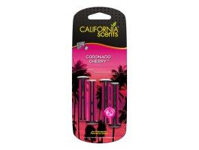 California Scents Vent Stick Coronado Cherry (Višně) Vonné kolíčky, 4 ks