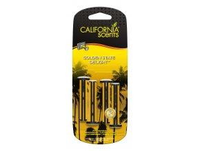 California Scents Vent Stick Golden State Delight (Gumoví medvídci) Vonné kolíčky, 4 ks