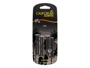 California Scents Vent Stick Ice (Ledová svěžest) Vonné kolíčky, 4 ks