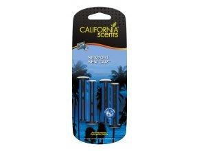 California Scents Vent Stick Newport New Car (Vůně nového auta) Vonné kolíčky, 4 ks