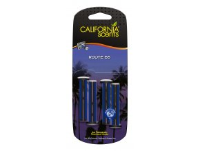 California Scents Vent Stick Route 66 (Vůně amerického venkova) Vonné kolíčky, 4 ks