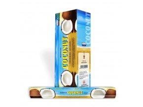 Darshan Vonné tyčinky Coconut Hexa, 20 ks