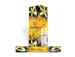 Darshan Vonné tyčinky Vanilla Hexa, 20 ks
