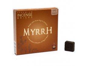 Aromafume Vonné cihličky Spiritual awareness Myrrh (Myrha), 9 ks