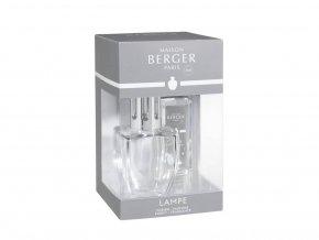 Maison Berger Paris Katalytická lampa JUNE Čirá + Neutrální náplň dárková sada, 250 ml