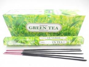 Darshan Vonné tyčinky Green Tea Hexa, 20 ks