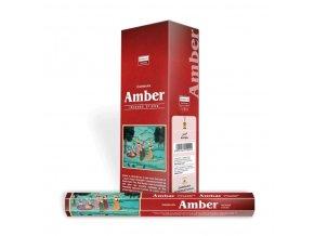 Darshan Vonné tyčinky Amber Hexa, 20 ks