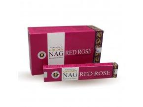Vijayshree Vonné Tyčinky Golden Nag Red Rose, 15 g