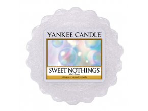 Yankee Candle Vonný vosk Sladké nic (SWEET NOTHINGS), 22 g