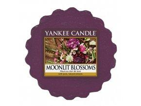 Yankee Candle Vonný vosk Květiny ve svitu měsíce (MOONLIT BLOSSOMS), 22 g