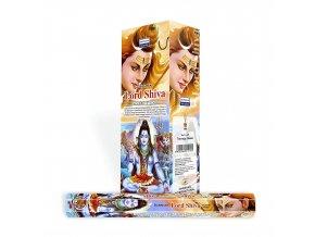 Darshan Vonné tyčinky Lord Shiva Hexa, 20 ks