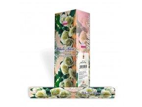 Darshan Vonné tyčinky White Rose Hexa, 20 ks