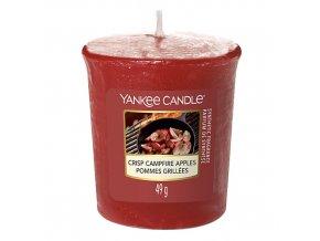 Yankee Candle Votivní svíčka Jablka pečená na ohni, 49 g