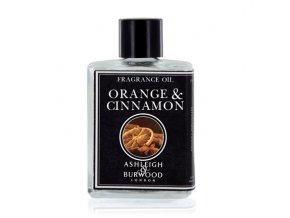 Ashleigh & Burwood Vonný esenciální olej ORANGE & CINNAMON, 12 ml
