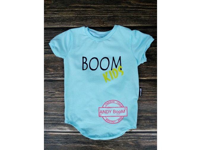 tričko fresh mint BOOM kids
