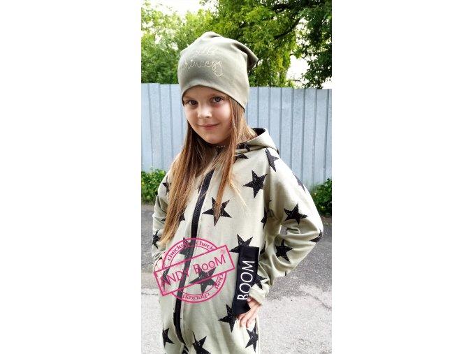 Mikina free style khaki star