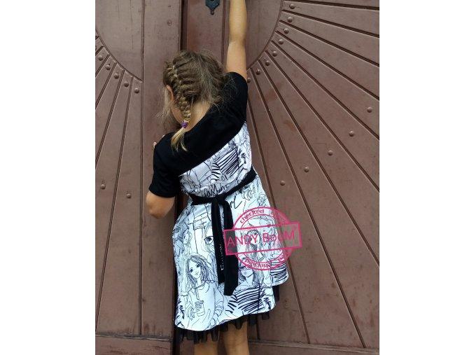 šaty Fashion girl