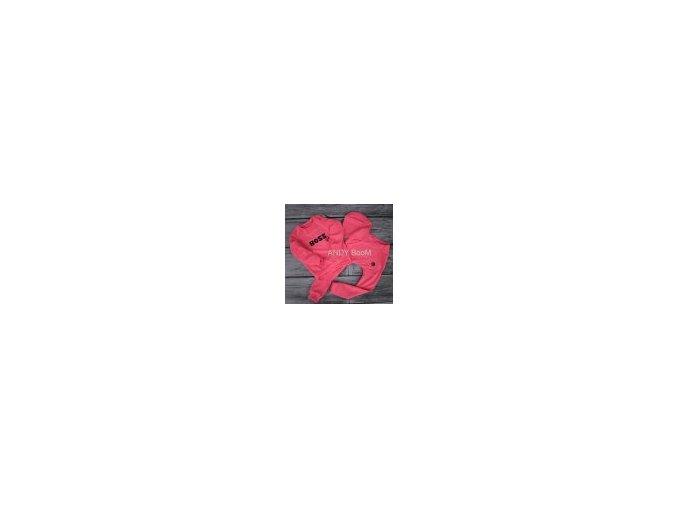baggy neonově růžové