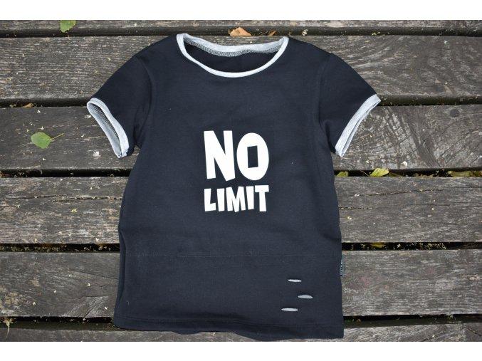 tričko černé - No Limit