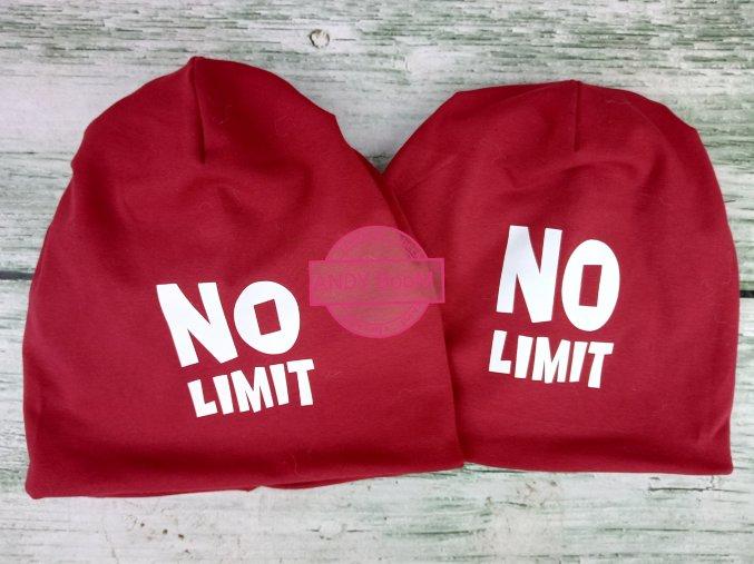 zimní čepice skřítek bordo NO LIMIT