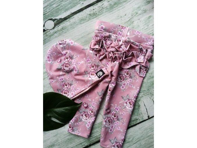 čepice old pink rose - beanie