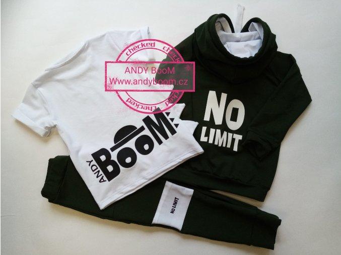 tričko DINO white