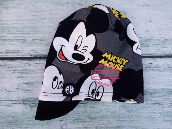 čepice Mickey Mouse jednovrstvá kšilt