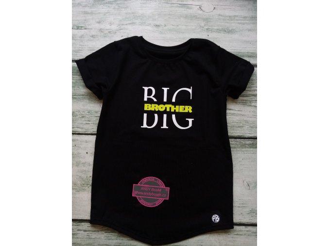 tričko Big brother black