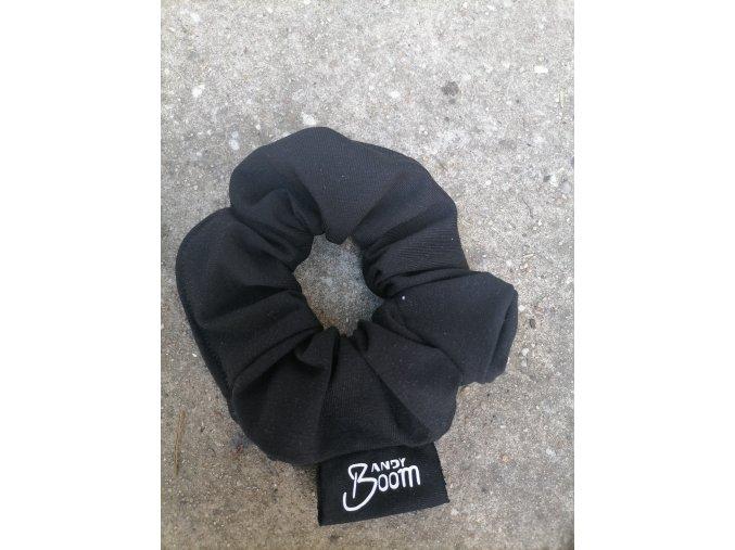 gumička do vlasů černá
