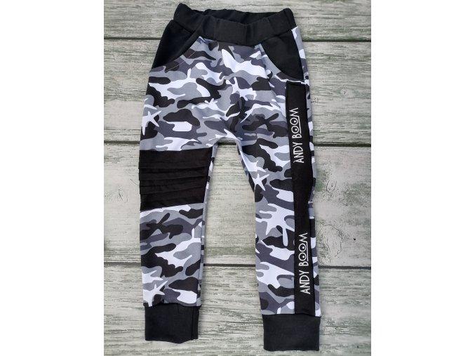 baggy army Black & white