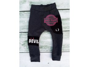baggy  DEVIL dark grey