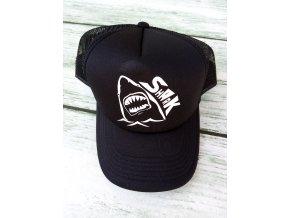 """kšiltovka celocerna """"Shark"""""""