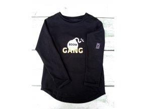 tričko BOOM  Gang černé
