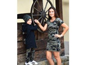 Army šaty