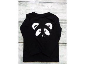 tričko black panda