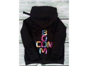 """mikina zip """"icon boom"""" black"""