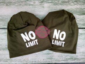 zimní čepice skřítek khaki NO LIMIT