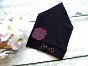 šátek černý PRINCESS